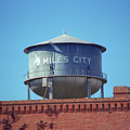 Miles City, Montana - Water Tower by Frank Romeo