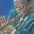 Miles Davis by Bryan Bustard