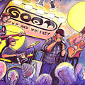 Miles Guzman Band by David Sockrider