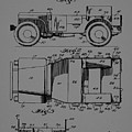 Military Vehicle Body Patent Drawing 1d by Brian Reaves