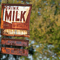 Milk Sign by David Arment