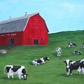 Milking Time Dairy by Kerri Ertman