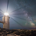 Milky Way Beacon Of Light by Michael Ver Sprill