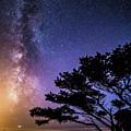 Milky Way In Newport, Or by George Herbert