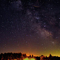 Milky Way, Moultonborough, Nh by Richard Griffis