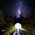 Milky Way Orb by Mark Andrew Thomas