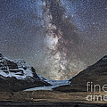 Milky Way Over Athabasca Glacier by Alan Dyer