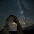 Milky Way Over Delicate Arch by Brian Anderson