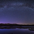 Milky Way Over Lonesome Lake Panorama by Chris Whiton