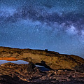 Milky Way Over Mesa Arch by Michael Ash