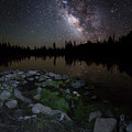 Milky Way Over Pass Lake by Scott Law