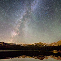 Milky Way Over The Colorado Indian Peaks by James BO  Insogna
