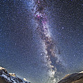 Milky Way Over The Columbia Icefields by Alan Dyer