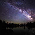 Milky Way Over The Lake by Scott Law