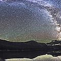 Milky Way Panorama At Cameron Lake by Alan Dyer