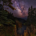 Milky Way Rising Over The Raven's Roost by Dale J Martin