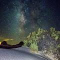 Milky Way White Sands by Jennifer Sensiba