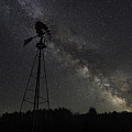 Milky Way Windmill  by Michael Ver Sprill