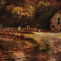 Mill - The Village Edge by Mike Savad