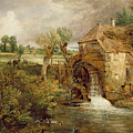Mill At Gillingham - Dorset by John Constable