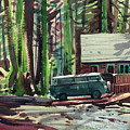 Mill Creek Camp by Donald Maier