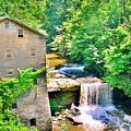 Mill Creek Park Lanterman's Mill And Covered Bridge by Lisa Wooten