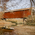 Mill Creek/tow Path Covered Bridge by Jack R Perry