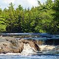 Mill Falls, Kejimkujik National Park, Nova Scotia by Gary Corbett