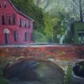 Mill Street Plein Aire by Sheila Mashaw