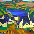 Mill Town, Quebec by Art  MacKay
