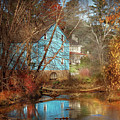 Mill - Walnford, Nj - Walnford Mill by Mike Savad