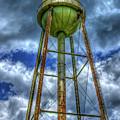 Mill Water Days Gone By Industrial Art by Reid Callaway