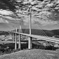 Millau Bridge France by Chris Pickett