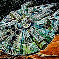 Millenium Falcon by Paul Ward