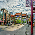 Millennium Gate In Vancouver Chinatown, Canada by Viktor Birkus