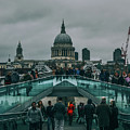 Millennium X St Paul's by Ryan Brazil