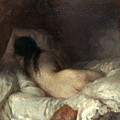 Millet: Reclining Nude by Granger
