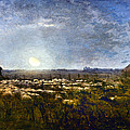Millet: Sheep By Moonlight by Granger