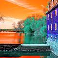 Millstone River Pop Art by John Rizzuto