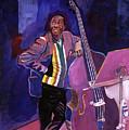 Milt Hinton Jazz Bass by David Lloyd Glover