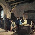 Milton Visiting Galileo by Granger