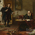 Milton Visiting Imprisoned Galileo by Wellcome Images