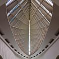 Milwaukee Art Museum Hall by Steve Gadomski