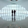 Milwaukee Art Museum Shadows by Lauri Novak