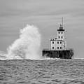 Milwaukee Breakwater Lighthouse by Paul Schultz