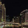 Milwaukee Downriver by Jeffrey Ewig