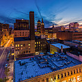Milwaukee Evening Glimmer by Andrew Slater