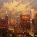 Milwaukee My Hometown by Tom Shropshire