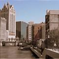Milwaukee Riverwalk by Anita Burgermeister