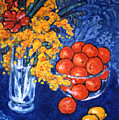 Mimosa And Tangerines by Paul Herman